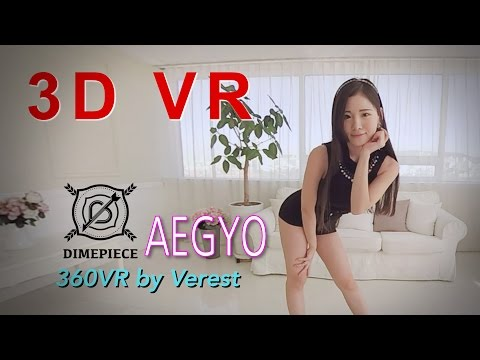 3D 360 VR Beautiful Girl group Dimepiece Aegyo
