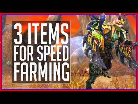 3 Must-Have Items for WoW Gold Farming (Patch 7.2.5)
