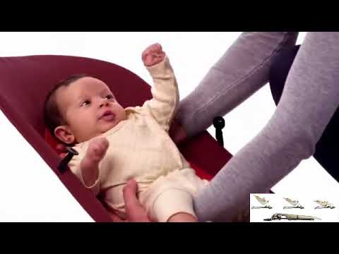 Portable Soft Baby Bouncer Balance Chair Soft