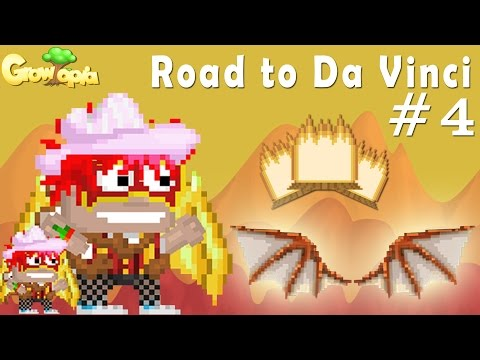 Growtopia | Road to Da Vinci Wings #4 | 5649 Rocket Thruster Trees