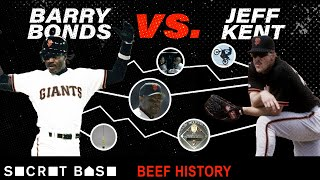 Barry Bonds' beef with Jeff Kent included stolen bus seats, motorcycle mishaps, and a dugout fight