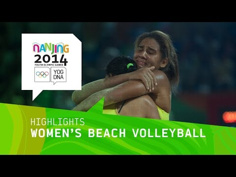 Brazil Wins Women's Beach Volleyball - Highlights | Nanjing 2014 Youth Olympic Games
