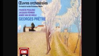 Francis Poulenc: Concert champêtre para clave y orquesta en Re Mayor (1928)