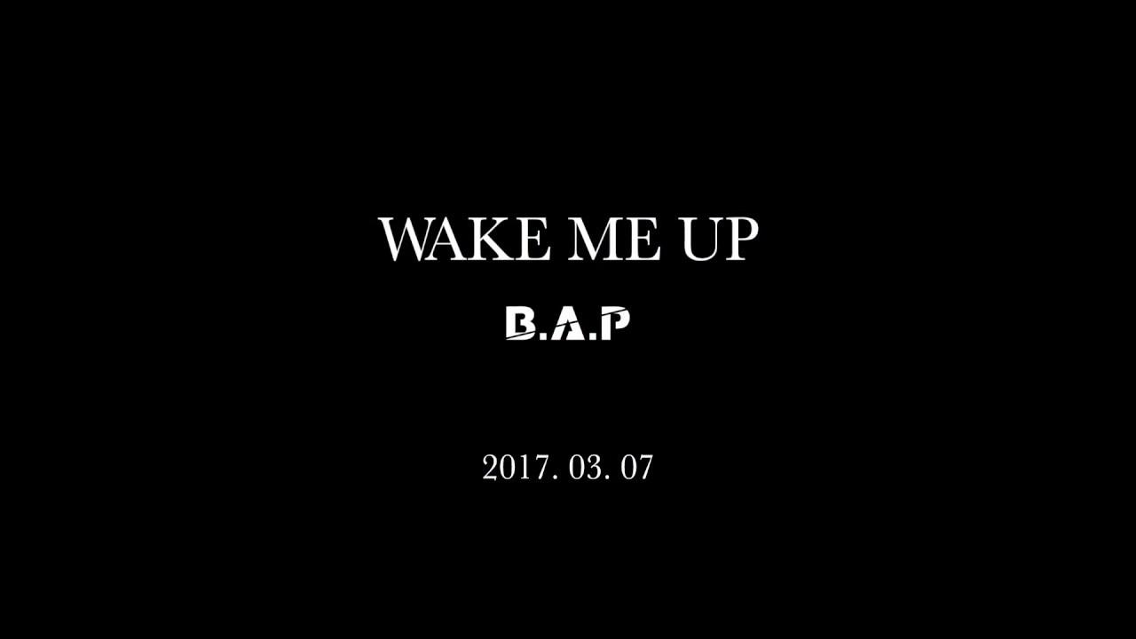 نتيجة بحث الصور عن B.A.P 'Wake Me Up'