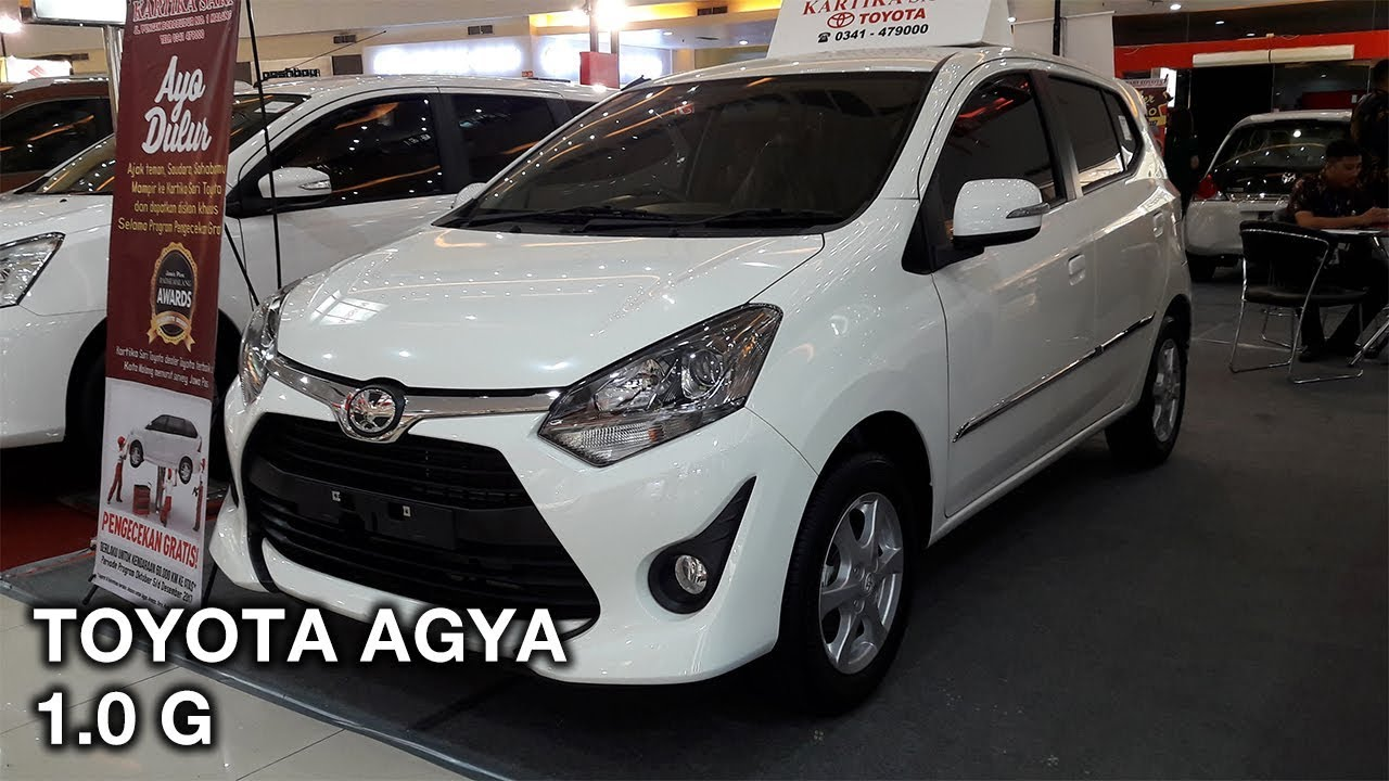 Toyota Agya 10 G 2017 Exterior And Interior YouTube