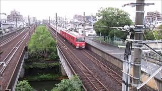 眠らない東海道本線と名古屋鉄道の様子 02