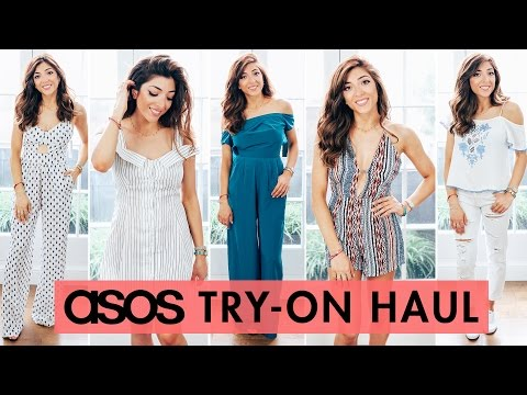 ASOS UNDER £30 HAUL + Unboxing & Try-On 2016 | Amelia Liana