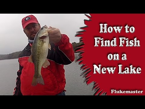 How To Find Fish On A New Lake - Bass Fishing