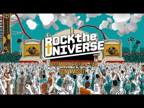 Rock the Universe 2016 at Universal Orlando Resort