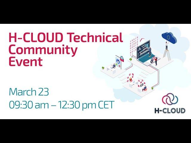H-CLOUD Technical Community Event