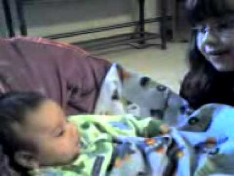 Haley Singing A Lullaby For Max (Cute)