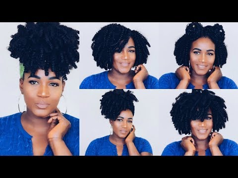 HOW TO STYLE KIMA KALON CROCHET BRAIDS QUICK AND EASY | HARLEM 125