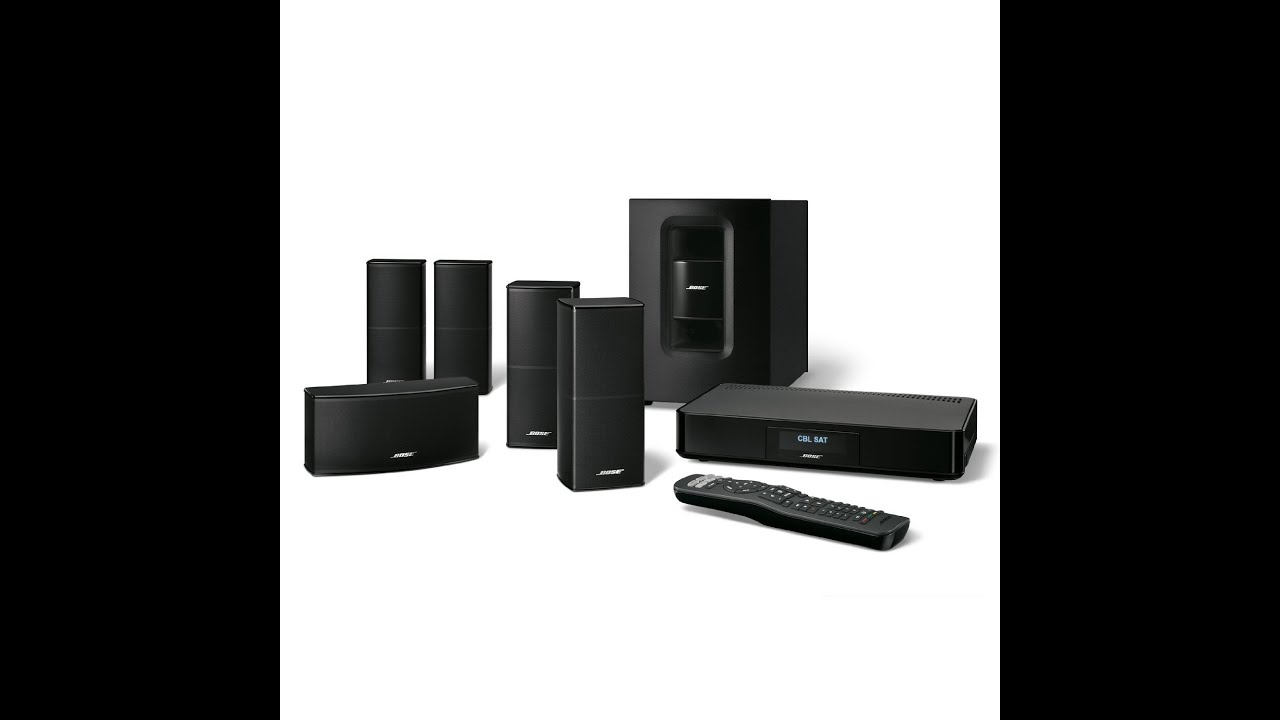bose cinemate 520 home theater system youtube