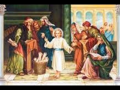 5TH JOYFUL MYSTERY-THE FINDING OF CHILD JESUS IN THE TEMPLE
