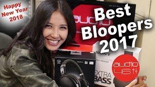 Best Bloopers 2017. Audio46 Hedphone Store.