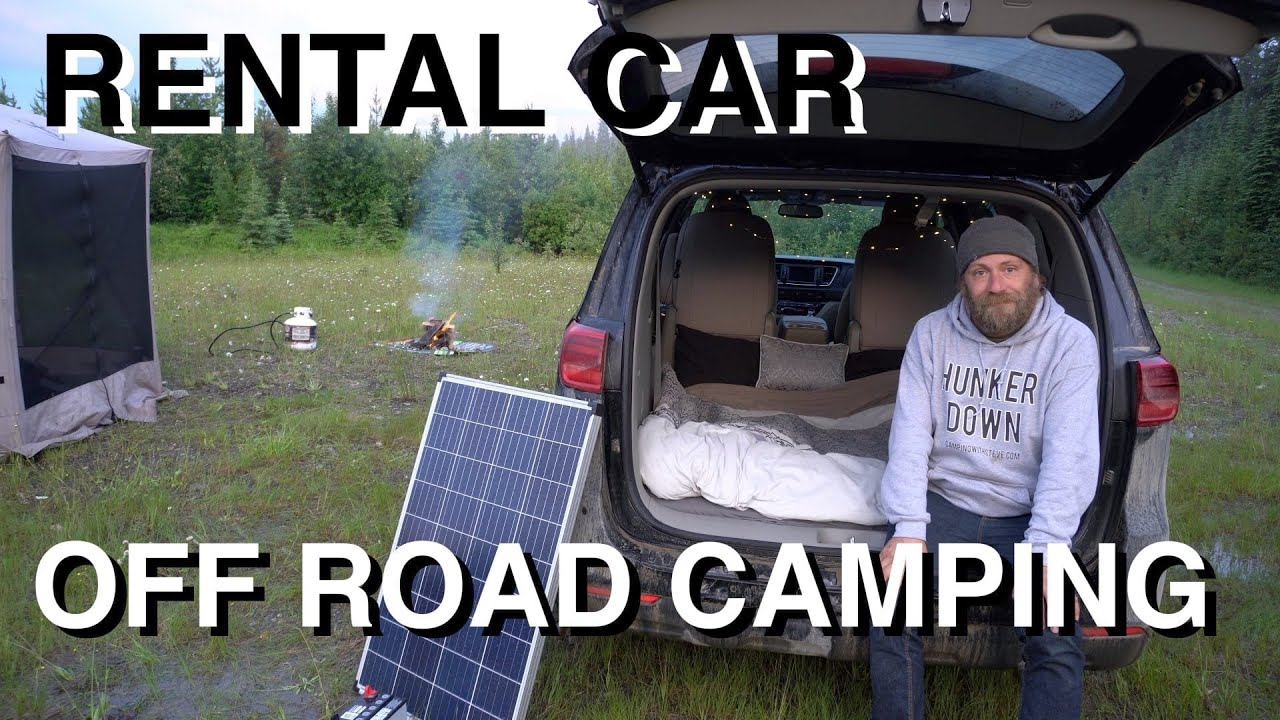 Rental Car Off Road Camping