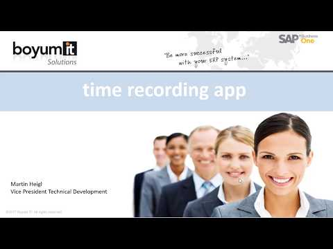Time Recording App - YouTube