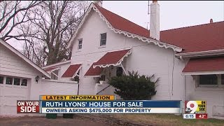 Ruth Lyons' house for sale