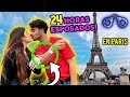 24 HORAS ESPOSADOS EN PARIS! #Fedecole