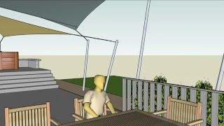 Edwin Bruce Associates Architects - Maskell Shade Sails