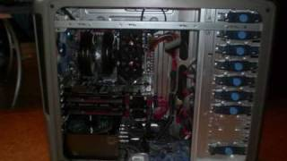 high end pc hd4870x2 crossfire asus rampage ii extreme corsair dominator gt intel i7 3 8 ghz