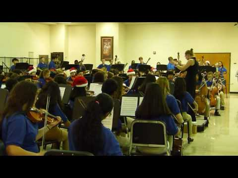 You're a Mean One, Mr. Grinch - Trickum Middle School Orchestra Concert 2016-11-29