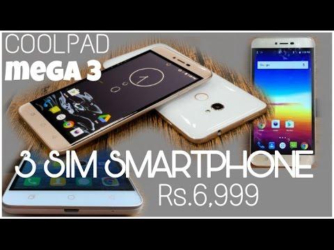 3 SIM Slot Smartphone Just RS.6,999[MEGA 3]