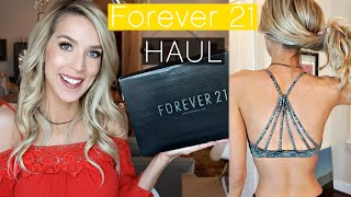 Forever 21 Haul & Try-On | Workout + Summer + Josie Grossie?