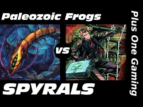 Yu-Gi-Oh! Paleo Frogs vs SPYRALS - Plus One Gaming Feature Match