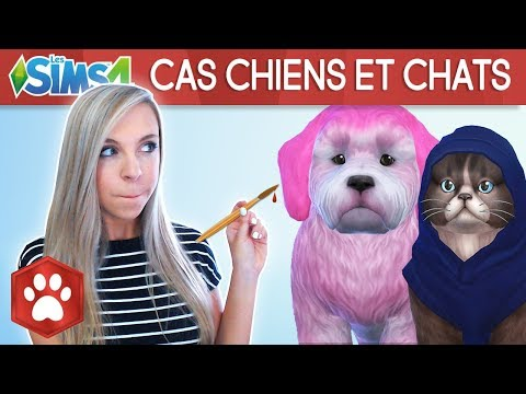 CREATION CHIENS ET CHATS - SIMS 4