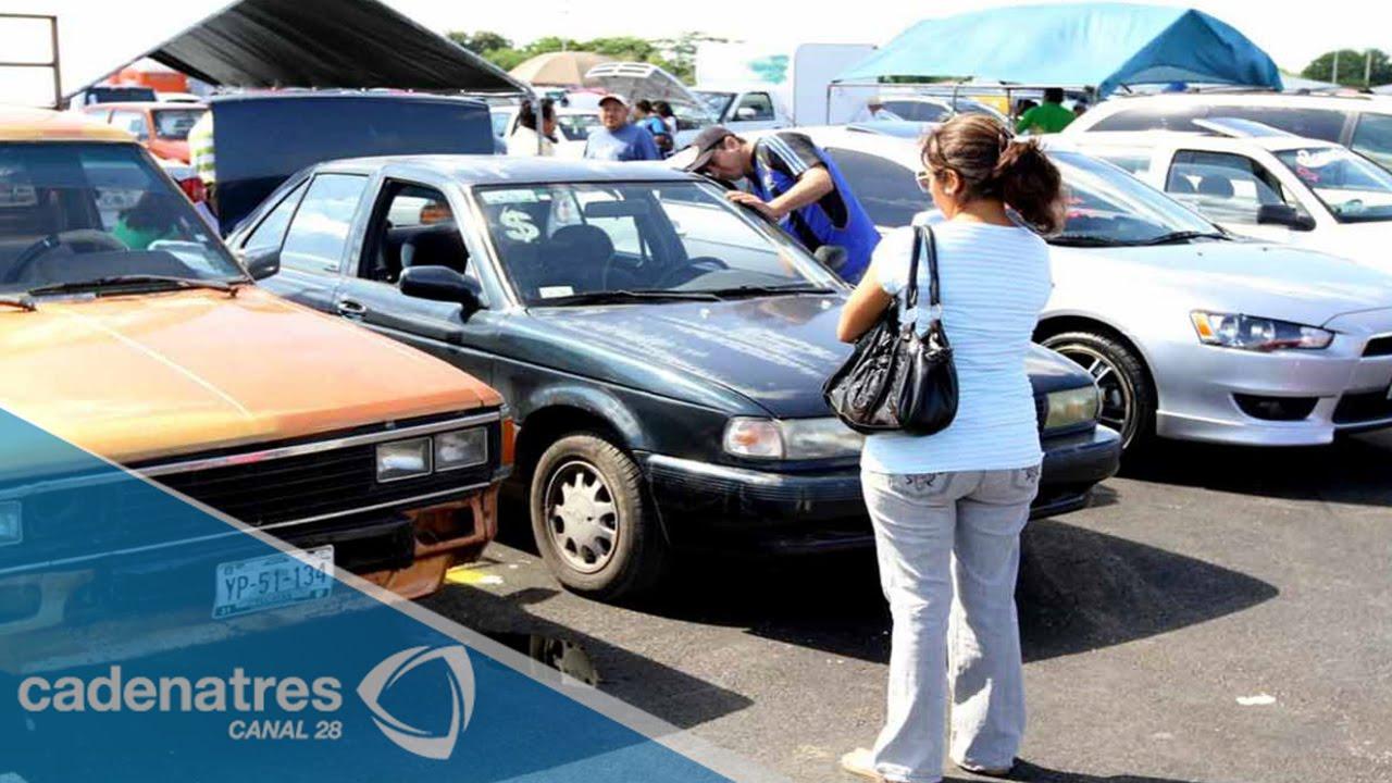 2cf8f4135 Reubican tianguis de autos en Nezahualcóyotl - YouTube