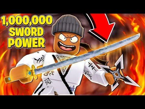i-got-1,000,000-sword-power-&-became-king-in-roblox-ninja-legends!