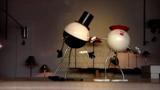 GINGER & FRED - The dancing cordless lamps