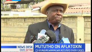 Mututho addresses case of aflatoxins in flour