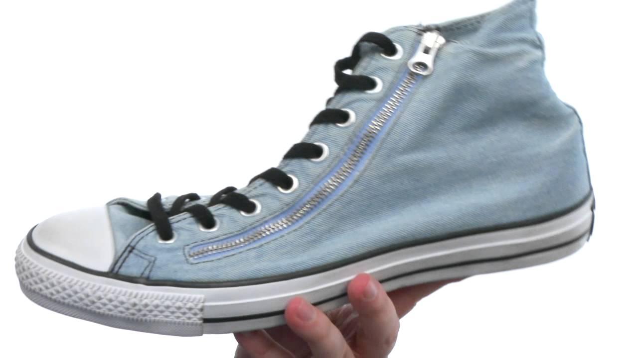 Converse Chuck Taylor® All Star® Denim Double Zip Hi SKU:#8261810