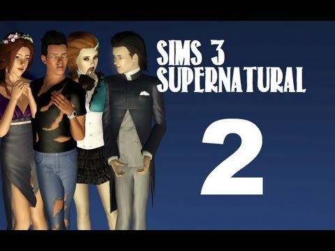 Let's Play: The Sims 3 Supernatural - (Part 2) - Full Moon W/Commentary