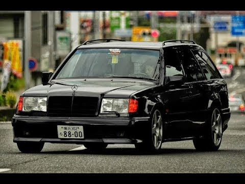 tuning mercedes benz w124 320te 3 6 amg universal youtube. Black Bedroom Furniture Sets. Home Design Ideas