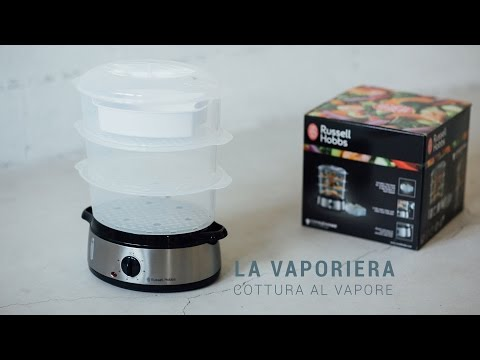 Spiegazione su come cuocere al vapore con la macchina per - Macchina per cucinare bimby ...