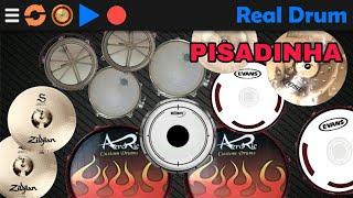 Como Tocar Pisadinha no Real Drum | Video Aula