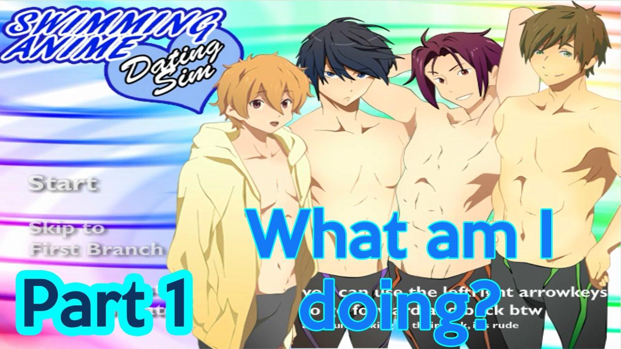 Dating sim swimming anime pics