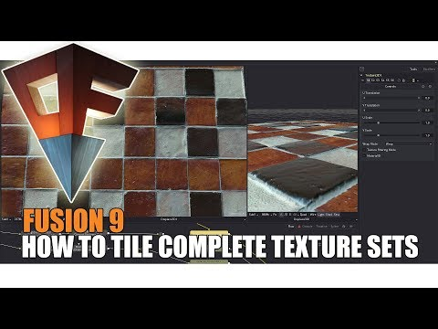 Texture Tiling Complete in Fusion 9