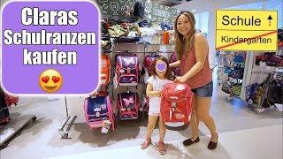 Claras Schulranzen kaufen 😍 Neues Kinderzimmer für Einschulung | Shopping Tour VLOG | Mamiseelen