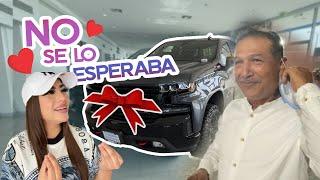 LE REGALE EL CARRO DE SUS SUEÑOS A MI PAPÁ | ASI REACCIONA 😰