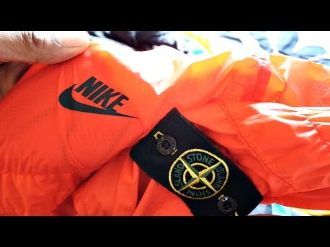 principal entrevista polvo  IT'S HERE........STONE ISLAND x NIKE LAB COLLAB!! - YouTube