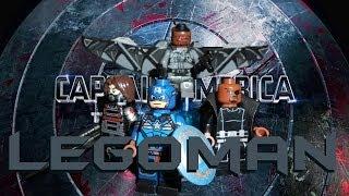 LEGO Marvel : Captain America: The Winter Soldier Minifigures - Showcase