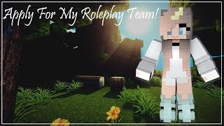 Apply For My Roleplay Team!