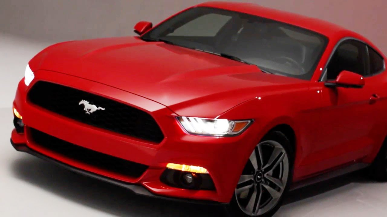 ► 2015 Ford Mustang reveal promo