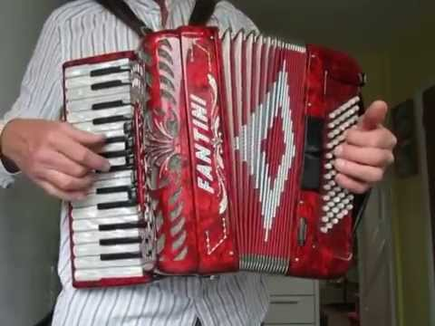 por una cabeza  accordion solo  sheet music