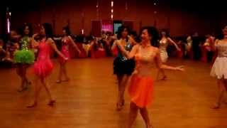 KISS  CHA  CHA  -  LINE  DANCE (Evonne Ng)