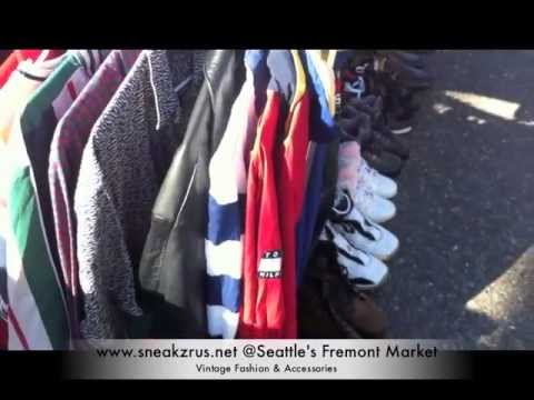 SRU Vintage | 90s Fashion & Accessories @ Seattle's Fremont Sunday Market 2013